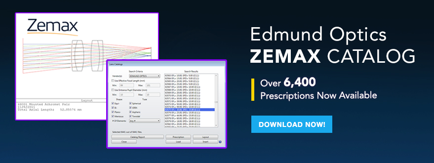 Edmund Optics Zemax Catalog