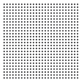 A dot grid distortion target.