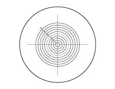 Concentric Circles Transmission Reticles