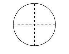 Crosshair Scale Contact Reticles