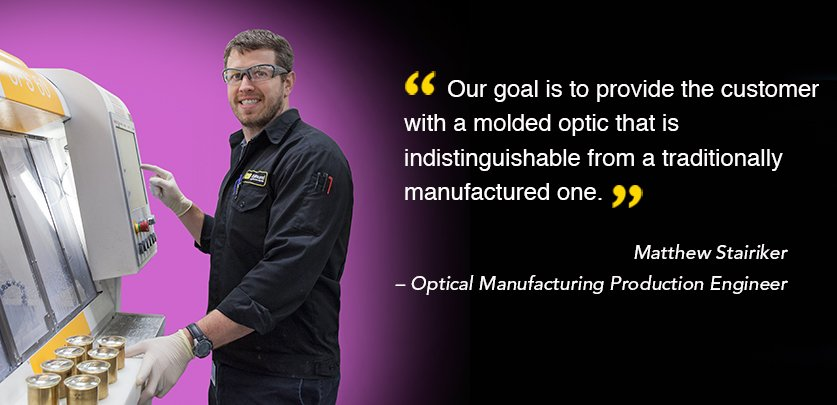 Matt Stairiker - Optical Manufacturing Production Engineer